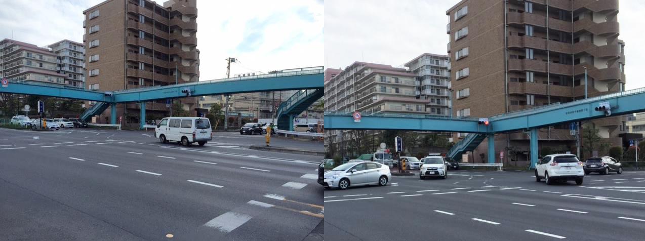 「世田谷区環八・千歳台交差点」に横断歩道の設置を目指す会の会合に出席
