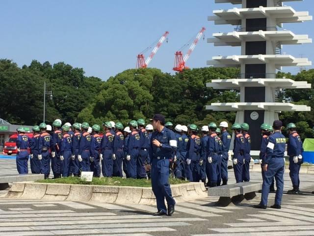 平成29年度 世田谷区・第三消防方面合同水防訓練