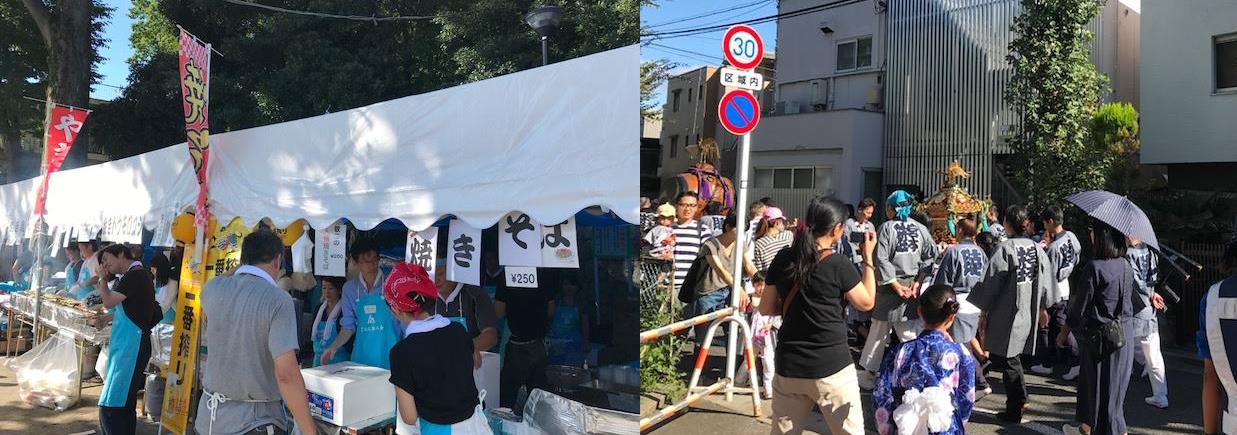 北澤八幡社例大祭